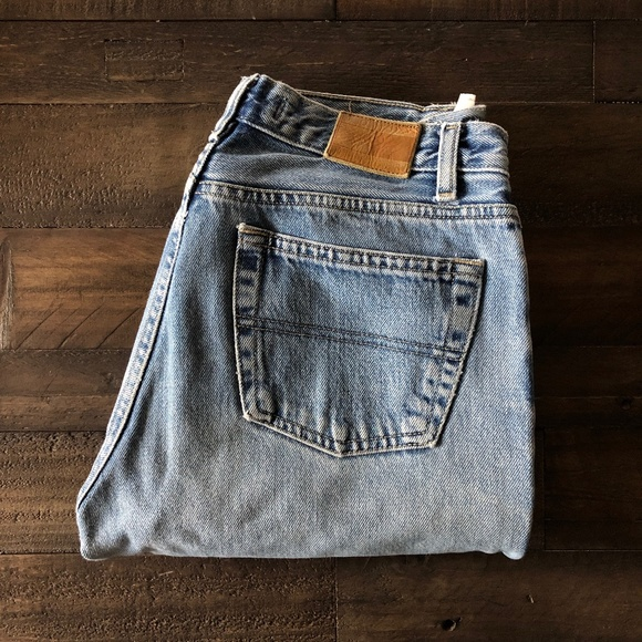 Vintage 90s Light Blue Tommy Hilfiger Denim Jeans
